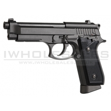 KWC M9 Co2 Pistol (4.5mm - KMB-15AHN - Full Metal - Blowback - Black)