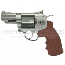 "Huntex 2.5"" Co2 Revolver (4.5mm-SR-Wood Grip)"
