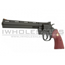 UA Gas 8inch Revolver (with Rose Wood Grip)