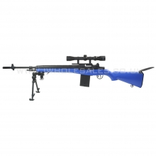 AGM M14 MP008 AEG Sniper Rifle with Scope and Bipod