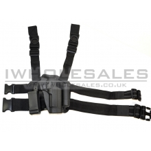 Big Leg Holster M92/M9 with Two Pouches (Hard)