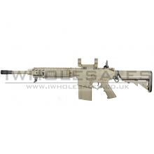 Ares Amoeba SR25 Carbine (EFCC) AEG (with Scope Mounts) (TAN)