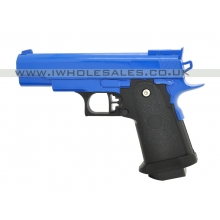 Galaxy G10 Spring Metal Pistol (G10 - Blue)