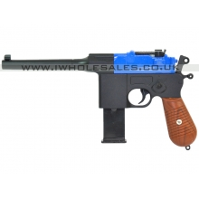 Galaxy G12 Metal Spring Pistol (G12 - Blue)