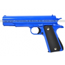 Galaxy G13 1911 Full Metal Spring Pistol (G13 - Blue)