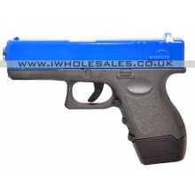Galaxy G16 17 Series Full Metal Spring Pistol (G16 - Blue)
