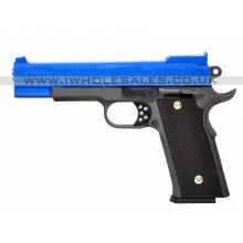 Galaxy G20 Spring Metal Pistol (G20 - Blue)