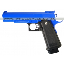 Galaxy G6 Spring Metal Pistol (G6 - Blue)