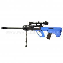 JG AUG-5 Sniper Rifle with Metal Bipod and Hunter Scope