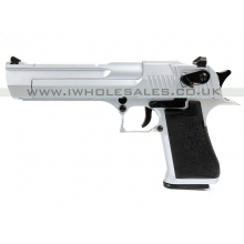 KWC-71021 KCB-51ACIH Chrome Air Pistol Co2  Blowback Pistol (6mm)