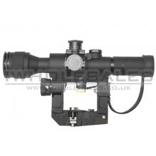 4x26 SVD Red Illuminated Sniper Scope