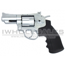 HFC Co2 Revolver 2.5inch (Full Metal) (Silver)