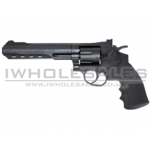 HFC Co2 Revolver 6inch (Full Metal) (Black)