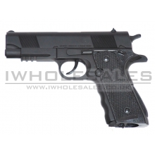 HFC Co2 Pistol 45 (Full Metal) (Black)