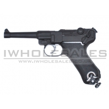 HFC Co2 Pistol P08 (Full Metal) (Black)