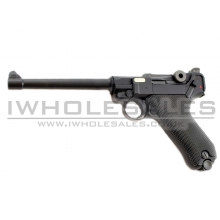 WE - P08 - 6 inch - (Gas Blowback Pistol)