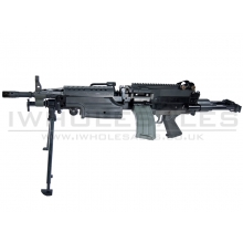 Classic Army M249 Para AEG Support Rifle (CA007M) (Black)