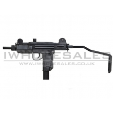 KWC Co2 SMG (4.5mm - KMB-07HN - Metal - Blowback - Black)