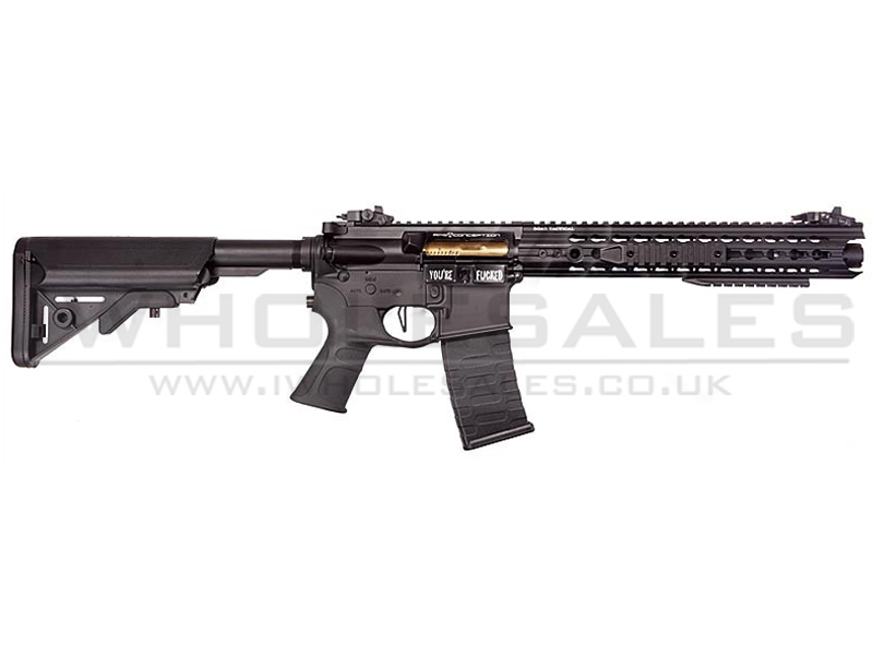 aps asr 116 ebb rifle black low profile adapt rail system rifle. Black Bedroom Furniture Sets. Home Design Ideas