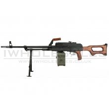 A&K PKM Support Rifle (Real Wood Grip and Stock)