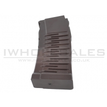 LCT VSS/AS VAL Low-Cap Magazine (Brown - 50 Round)