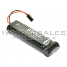 WE Battery 3300mAh NiMH 8.4V (153mm Length) (3x2 + 1)