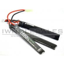 WE Battery 1450mAh Lipo 11.1v 25c Stick (3 Way Split)