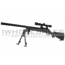 AGM VSR10 Bolt Action Sniper Rifle with Scope and Bipod