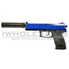 Double Eagle M23 Spring Pistol with Silencer