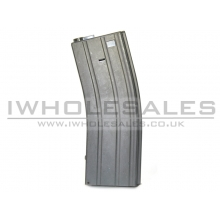 Snow Wolf M4 Flash Magazine (Black) (350 Rounds)