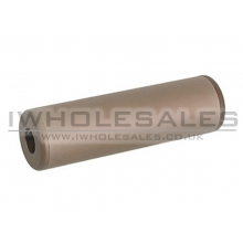 CCCP NS Silencer (Full Metal - 110mm in Length - Tan)