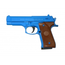 Galaxy G22 Spring Metal Pistol (G22 - Blue)