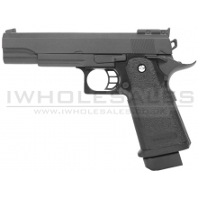 Galaxy G6 Spring Metal Pistol (G6 - Black)