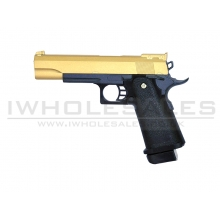 Galaxy G6 5.1 Full Metal Spring Pistol (G6-GOLD)