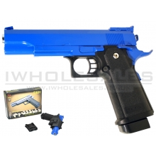 CCCP K-Warrior G6H Metal Pistol with Holster (Blue)