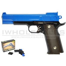 CCCP C945 G20H Metal Pistol with Holster (Blue)