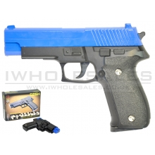 CCCP C226 G26H Metal Pistol with Holster (Blue)