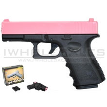 CCCP C17 G15H Metal Pistol with Holster (Pink)