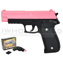 CCCP C226 G26H Metal Pistol with Holster (Pink)