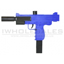 Double Eagle M36 Sub Machine Spring Rifle 1:1 Scale (Blue)