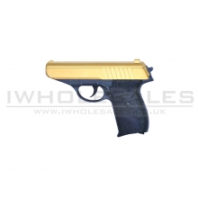 Galaxy G3 PPK Full Metal Spring Pistol (G3-GOLD)