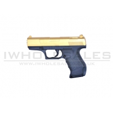 Galaxy G19 PPK Full Metal Spring Pistol (G19-GOLD)