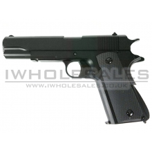 HFC 1911 Gas Pistol (Non-Blowback) (Black - GG-107 )