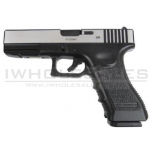 Army R17 Gas Blowback Pistol (ARMY-R17-SILVER)