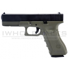 Army R17 Gas Blowback Pistol (ARMY-R17-GREEN)