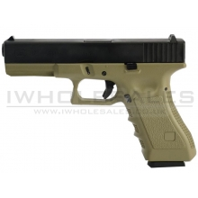 Army R17 Gas Blowback Pistol (ARMY-R17-TAN)
