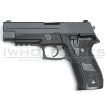 WE MK25 Gas Blowback Pistol (Black)