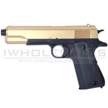 Double Eagle 1911 Spring Pistol (M292 - Gold)