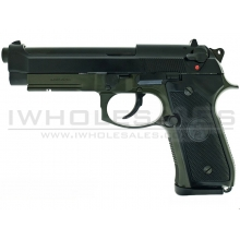 KJWorks M9 Gas Blowback Pistol (Full Metal - KJW-M9A1-GAS-OD)