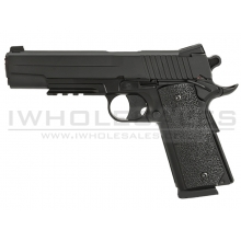 KWC 1911 Co2 Pistol (Non-Blowback - Full Metal - Black - KWC-KC-42ZDHN)